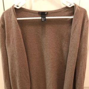 H&M women's basic cardigan size L